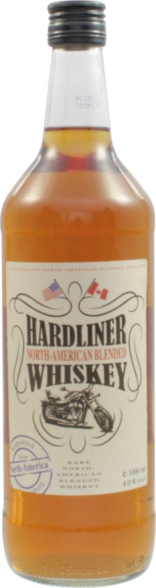 Hardliner - American Blended Whiskey, 1,0 l