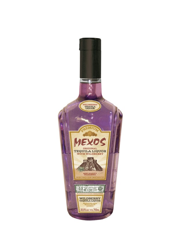 Mexos - Premium Wildberry, 0,7 l