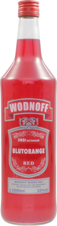Wodnoff Red - Blutorange, 1,0 l