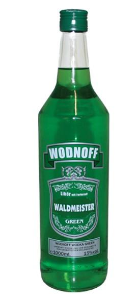 Wodnoff Green - Waldmeister, 1,0 l