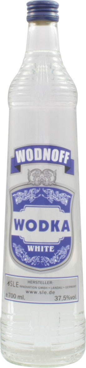 Wodnoff White - Pure Wodka, 0,7 l