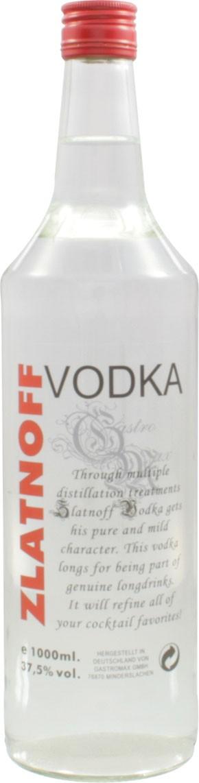 Zlatnoff - Wodka, 1,0 l